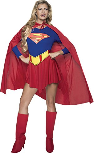 Original Superwoman Kostüm - Rubie's Supergirl Erwachsenen-Kostüm Damen, Gr. M