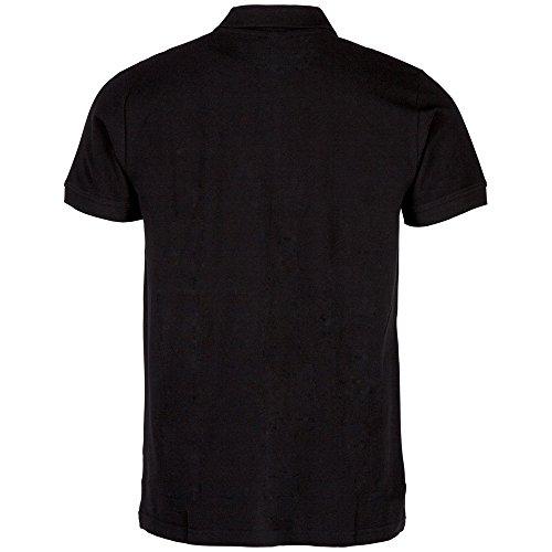 Kappa Polo Peleot Shirt Schwarz