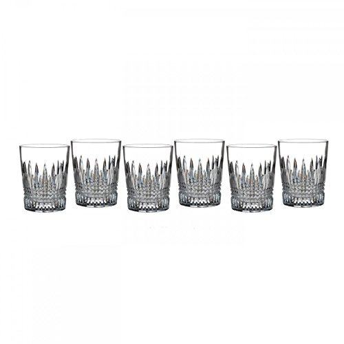 Lismore Diamond Double Old Fashioned Glass (Set of 6) by Waterford Waterford Lismore Double Old Fashioned