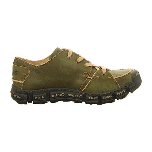 Rovers  400 Kiwi, Chaussures de ville à lacets pour homme Kiwi