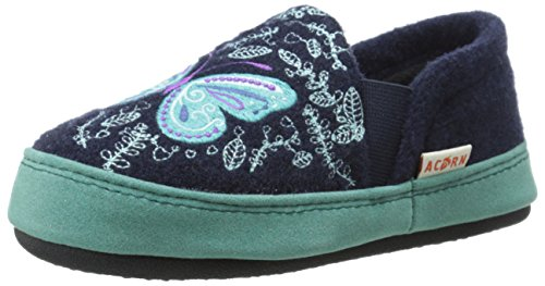 Acorn Kid's Colby Gore Moc Slipper(Infant-Toddler-Little Kid-Big Kid) Gore Moc