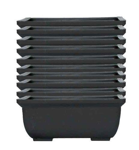 Pots Pour Bonsai En Plastique X10 - 13cm