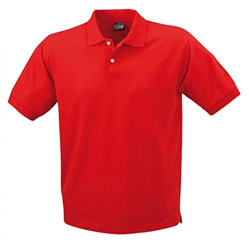 Klassisches Piqué-Poloshirt für Herren Rot
