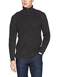 G-STAR RAW Suzaki Turtle Knit L/S, Pull Homme