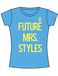 Official One Direction t-shirt Future Mrs. Styles