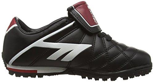 Hi-Tec Unisex-Kinder League Pro Astro Junior Fußballschuhe Schwarz (Black/white/red 021)