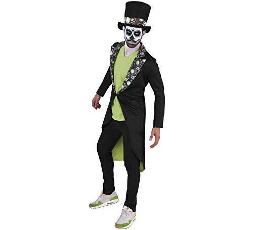 Erwachsene Der Tag Toten Herren Für Kostüm - Rubie's Kostüm für Erwachsene - Katzenjunge der Toten