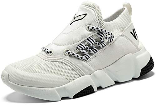 VITIKE Unisex-Kinder Sneakers Jungen Mädchen Sneaker Outdoor Schuhe Jungen Turnschuhe Laufschuhe Schnürer Freizeit Schnürer Sportschuhe Sneaker (Jungen-canvas-schuhe)