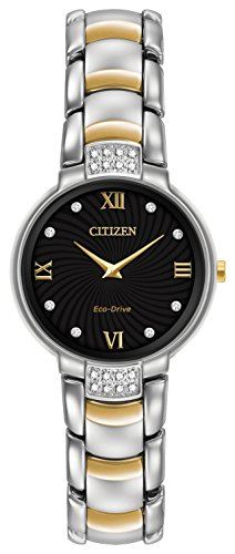 Citizen Watch Women's Analogue Solar Powered Stainless Steel Strap EX1464-54E