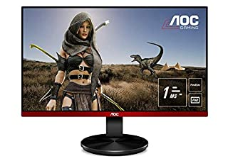 "AOC G2590VXQ Monitor da Gaming 24.5"", FHD 1920 x 1080 a 75 Hz, 1 ms, Speaker, D-SUB, 2 x HDMI, DP, Nero/Rosso (B078S36XWV) | Amazon price tracker / tracking, Amazon price history charts, Amazon price watches, Amazon price drop alerts"