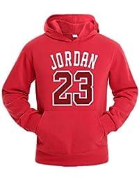 YOHH Jersey Hombre Jordan 23 Sudaderas Con Capucha