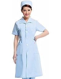 Xuanku La Enfermera Tome Farmacia Verano Manga Corta Uñas Pie Tienda Ropa De Cosmetología White Collar