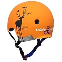 Triple 8 Brainsaver Helmet with EPS (Switzer Orange, Large/X-Large)