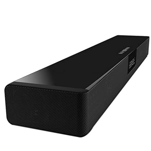 Fornateu Bluetooth 4.2 Stereo-Musik spielt Soundbox schnurlose Funk-Lautsprecher-Telefon Wireless-Ladegerät (Rca-sound-bar Fernbedienung)