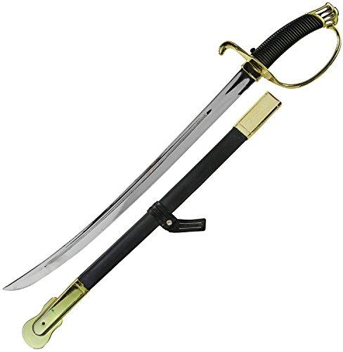 Schwert Ritter-Schwert Karneval Napoleon Schlacht-Schwert Regent mit Scheide 60cm