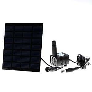 Anself mini pompe à eau d'énergie solaire pour la piscine fontaine de jardin avec pompe à eau pour arrosage des plantes Kit Economie d'énergie, écologique, haute efficacité et longue durée de vie) solaire avec pompe