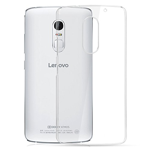 Plus Perfect Soft 0.3mm Ultra Thin Transparent Clear TPU Soft Back Case Cover For Lenovo Vibe X3