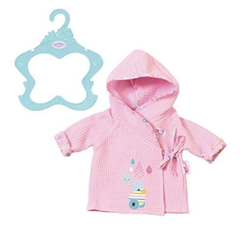 Baby Born 824665 Bathrobe Doll Clothing, One Size