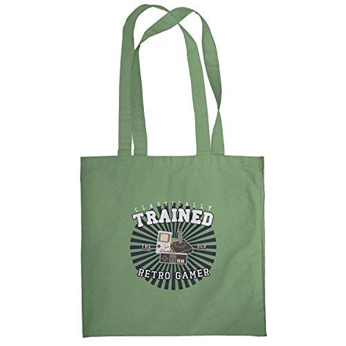 Texlab–Classically Trained–sacchetto di stoffa Oliva