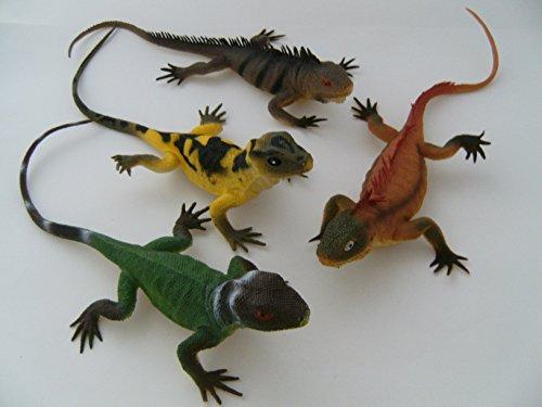 a. 30 cm, Echse Echsen Eidechse, Hartgummi, Spielzeug Tiere (Spielzeug-echsen)