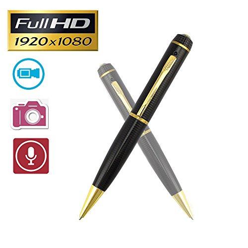 calistouk Pen Kamera Full HD 1080P Mini Camcorder Video Kamera Recorder (Pen Recorder Video)