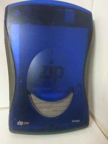 Iomega Zip 250Externe Laufwerk 250MB Blau/Grau AC Powered Z250USBPCM