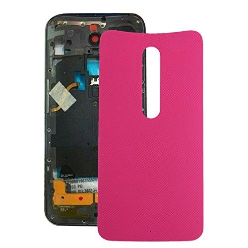 AN-JING Parti di Ricambio IPartsBuy for Motorola Moto X Style Copertura Posteriore della Batteria di Accessori (Colore : Magenta)