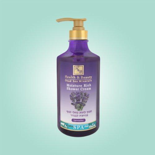 Mer Morte cosmétique - Health and Beauty Dead Sea Minerals - Crème douche à la lavande - 780 ml