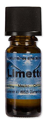 10ml LIMETTE (Limone) -100% ätherisches Öl 10ml-ätherisches Limettenöl/ätherisches Limonenöl - echtes Limette-Öl - Limettenduft-Limonenduft