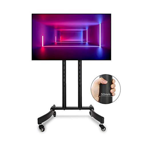 Exing Floor TV-Stand, 32-65 Inch Universal TV Stand Cart Vertical TV Stand Maximum Load 75KG Für Home Meeting Room Restaurant (Restaurant, Cart)