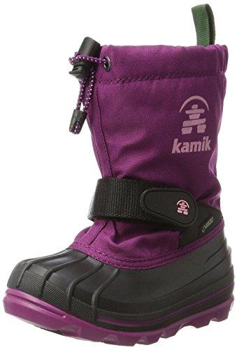 Kamik Mädchen WATERBUG8G Schneestiefel, Violett (Plum-Prune), 37 EU