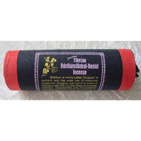 Tibetan Bdellium (Gokul in resina) Nepalese/Tibetano Bastoncini di incenso - Resina Pilgrim