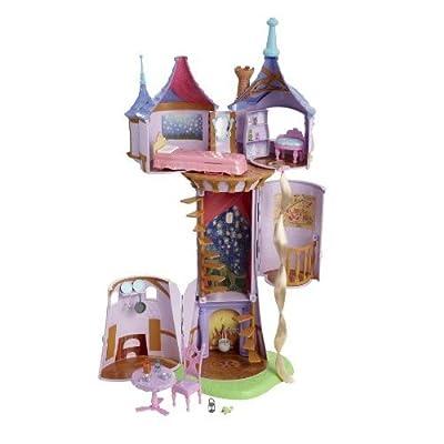 Mattel T1955-0 Princesas Disney - Torre de Rapunzel (5 habitaciones y accesorios) por Mattel