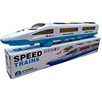 KipsKart Emu Speed Train with 3D Flashing Lights & Music High Speed Bullet Train for Toddlers with 3D Lighting and…