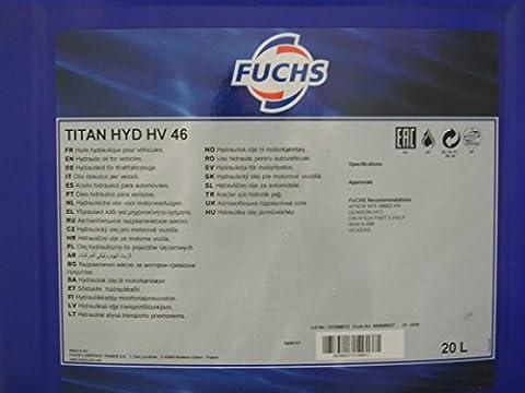 Huile hydraulique TITAN HYD HV 46