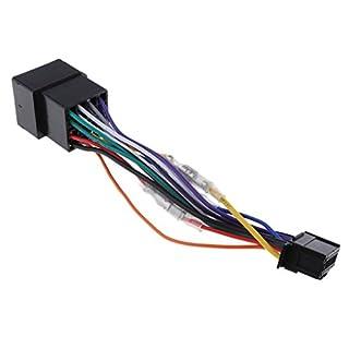 Baoblaze Autoradio Stereo Kabelbaum Adapter für Pioneer AVH-270BT, AVH-280BT, MVH-AV270BT, MVH-AV280BT