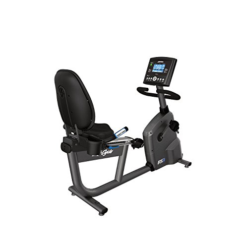 Life Fitness RS3 Lifecycle Liegeergometer mit Go-Konsole, RS3