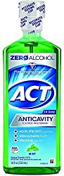 2 Pack - ACT Anticavity Fluoride Rinse Mint 18 oz