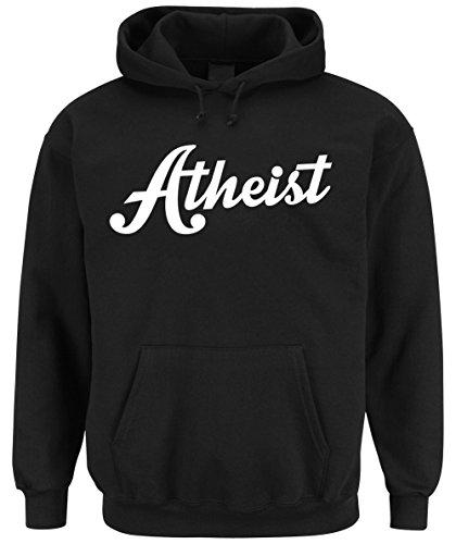 Atheist Hooded-Sweater Black Certified Freak-XXL