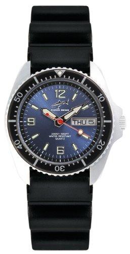 Chris Benz Unisex-Armbanduhr Analog Kautschuk CBM.B.KB.SW