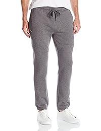 Lacoste Men s Tennis Training Sport Fleece Pant with Elastic Leg Opening