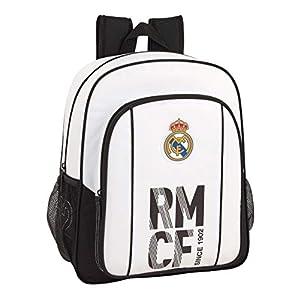 41veKAgURDL. SS300  - Real Madrid CF Mochila Junior niño Adaptable Carro.