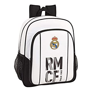 41veKAgURDL. SS324  - Real madrid cf Mochila Junior niño Adaptable Carro.