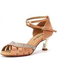 KUKI Galvanizado con zapatos de baile latino femenino GB zapatos zapatos de baile adulto , US6.5-7 / EU37 / UK4.5...