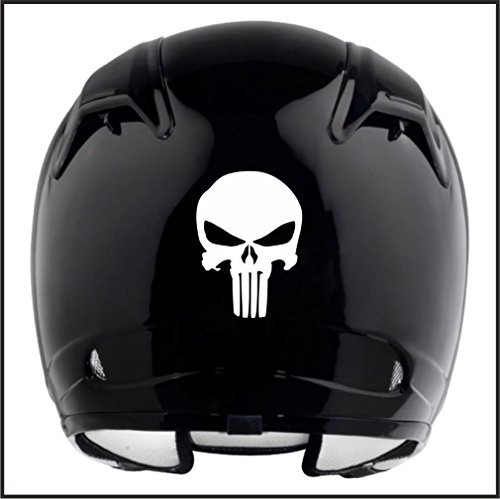 DELHI TRADERSS Vinyl Logo Decal Bike sticker for All Helmet
