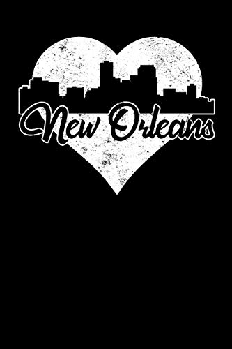 New Orleans: 6x9 college lined notebook to write in with skyline of New Orleans, Louisiana (Orleans New Von Skyline)