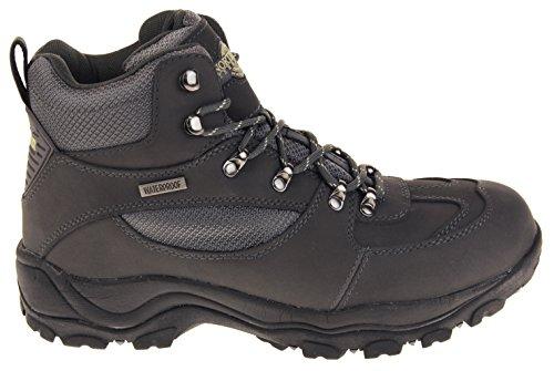 Footwear Studio Herren Northwest Territory Leder Wasserdichte Wanderschuhe Grau