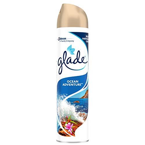 Glade (Brise) Duftspray für langanhaltende Frische in allen Räumen, Lufterfrischer Spray, Ocean Adventure, 1er Pack (1 x 300 ml) -