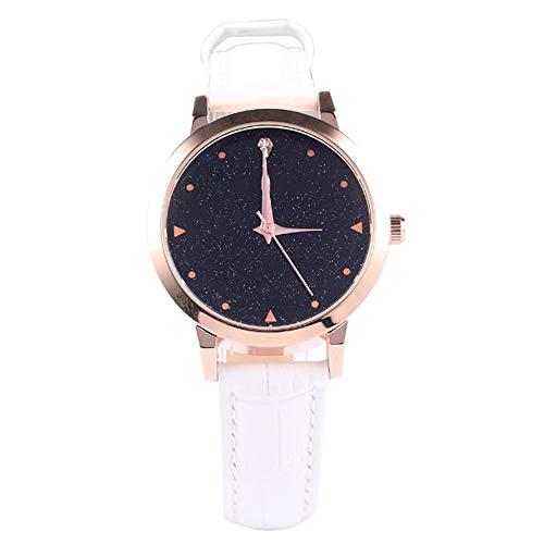 Liandd Kreative Quarzuhren Frauen Luxusmarke Rose Gold Fall Damen Kleid Uhren Romantische Armband Frauen Uhr Neu,White