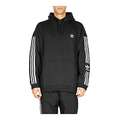 adidas Herren Lock UP Hoody Sweatshirt, Black, M -